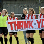 Thank You Banner after DHFC game